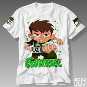 Camiseta Ben 10 Game