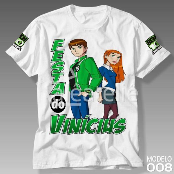 Camiseta Ben 10 Força Alienígena