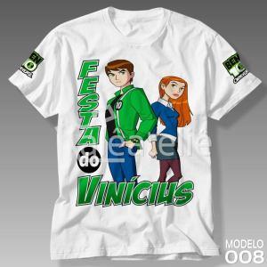 Camiseta Ben 10 Omnitrix 008
