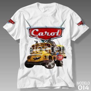 Camiseta Carros Disney 014