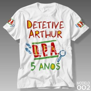 Camiseta Detetives do Prédio Azul 002
