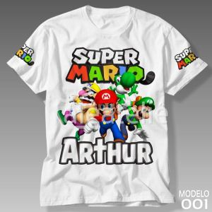 Camiseta Super Mario Bros 001
