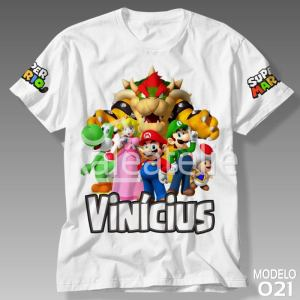 Camiseta Super Mario Bros 021