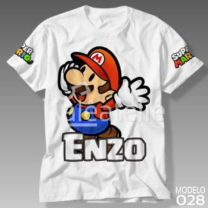 Camiseta Super Mario Bros 028