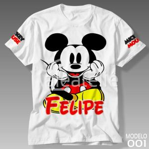 Camiseta Mickey Mouse 001