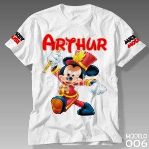 Camiseta Mickey Mouse 006
