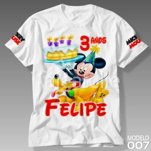 Camiseta Mickey Mouse 007