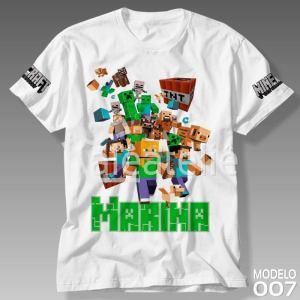 Camiseta Minecraft 007