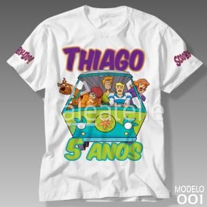 Camiseta Scooby Doo Personalizada