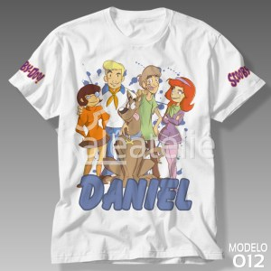 Camiseta Estampa Scooby Doo