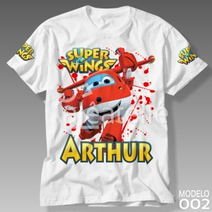 Camiseta Super Wings Jett