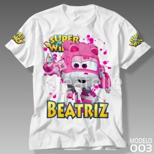 Camiseta Super Wings 003