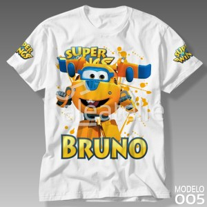 Camiseta Super Wings Donnie