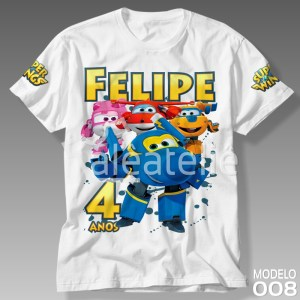 Camisetas Super Wings