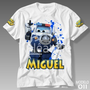 Camiseta Super Wings Paul