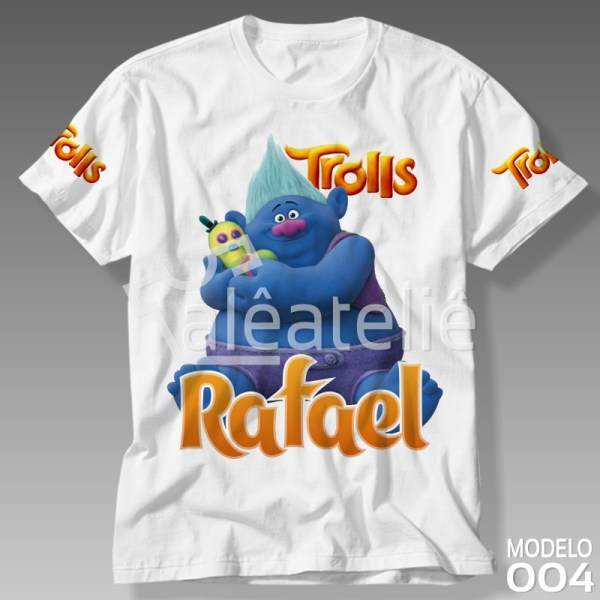 Camiseta Trolls Bitelo