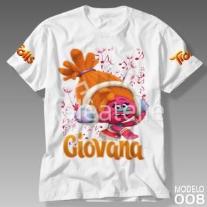 Camiseta Trolls 008