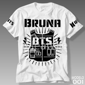 Camiseta Bts Kpop 001