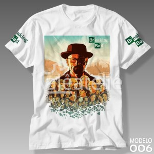 Camiseta Breaking Bad 006