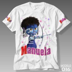 Camiseta Masha e Urso 016