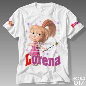 Camiseta Masha Urso Fada