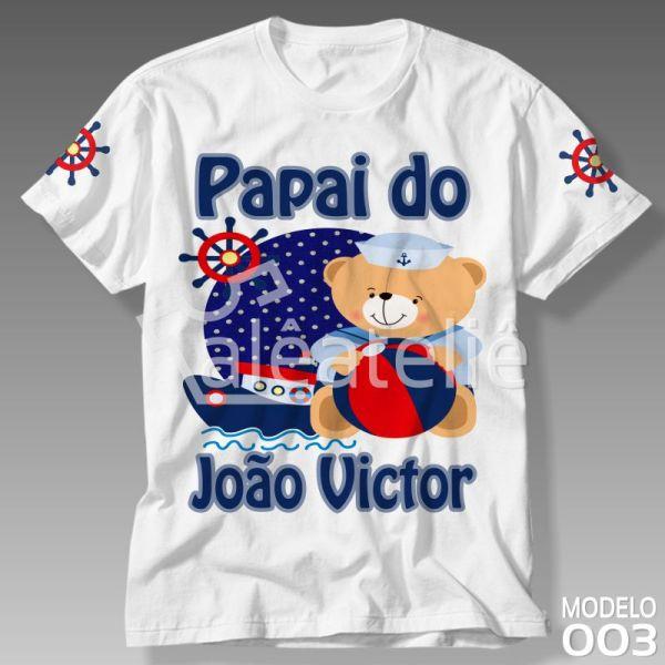 Camiseta Urso Marinheiro