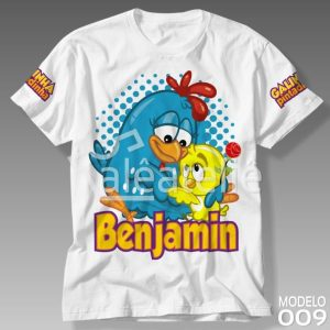 Camiseta Galinha Pintadinha 009