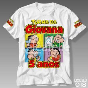 Camiseta Turma da Monica Festa