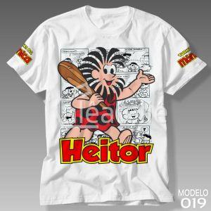 Camiseta Turma da Mônica 019