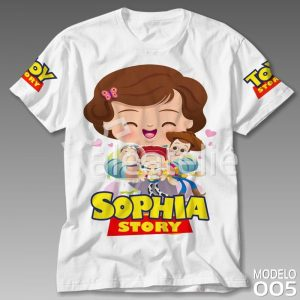 Camiseta Personalizada Toy Story