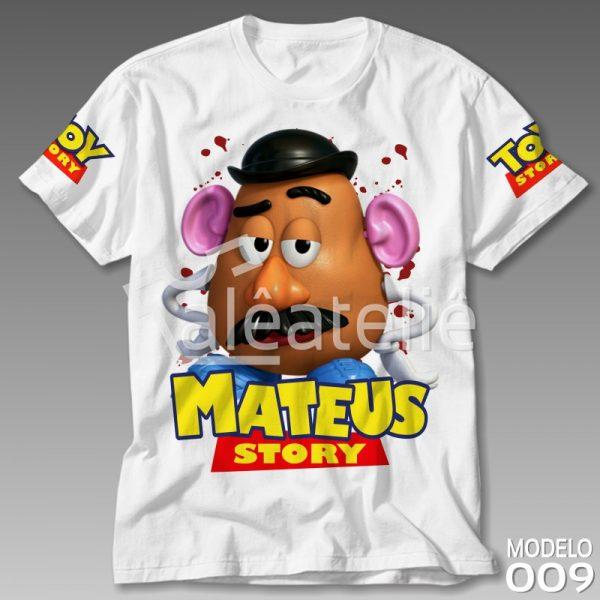 Camiseta Toy Story Sr Batata