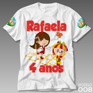 Camiseta Sitio Picapau Personalizada