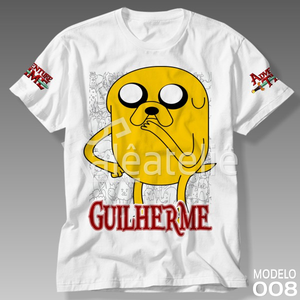 Camiseta Hora de Aventura Jake