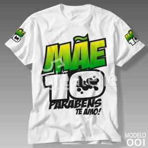 Camiseta Mãe 10