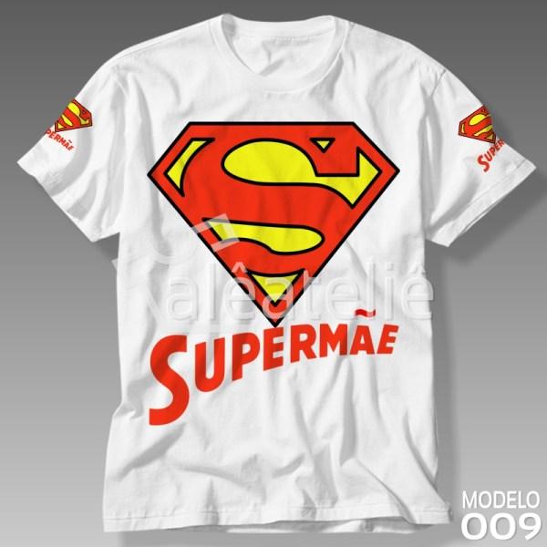 Camiseta Dia das Mães Supermãe