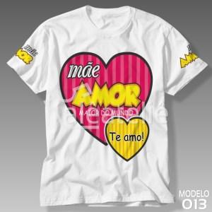 Camiseta Dia das Mães Amor