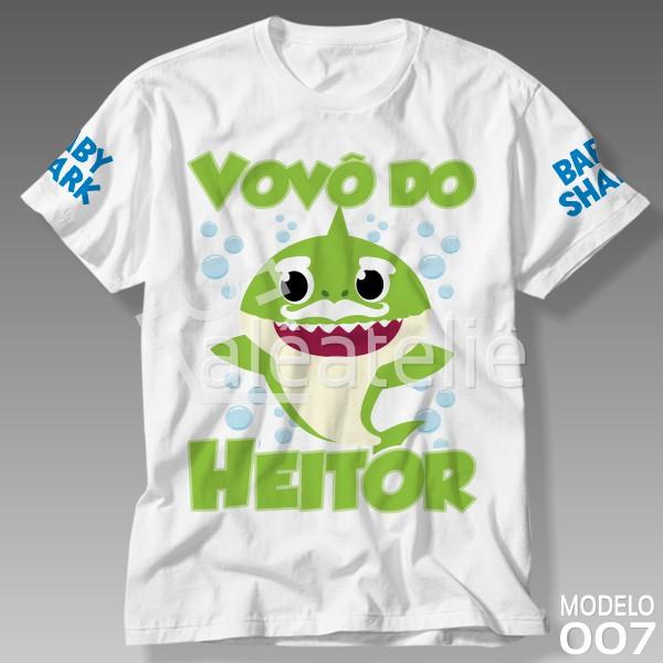 Camiseta Grandpa Shark