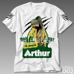 Camiseta Personalizada Dinossauro