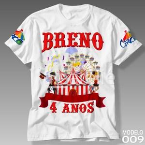 Camiseta Circo 009