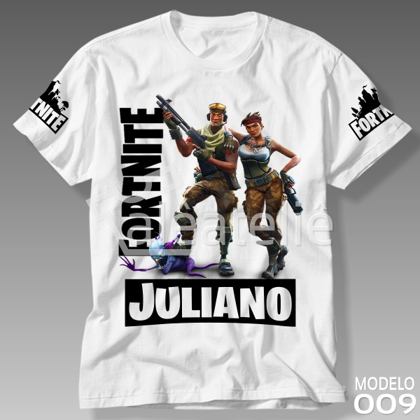Camiseta Personalizada Fortnite
