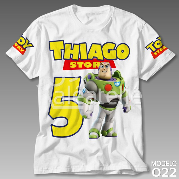 Camiseta Toy Story Buzz Lightyear