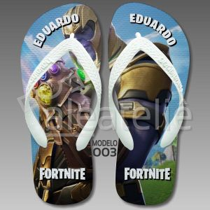 Chinelo Fortnite Thanos