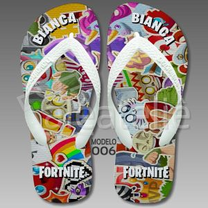 Chinelo Personalizado Fortnite