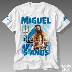 Camiseta Aquaman 001