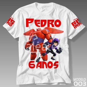 Camiseta Big Hero 003