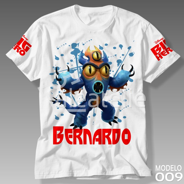 Camiseta Big Hero Fred