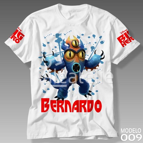 Camiseta Big Hero Fred