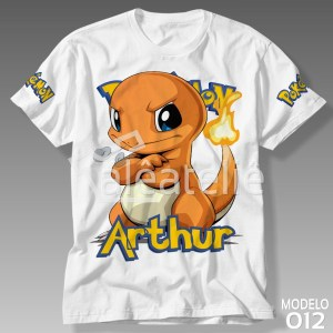 Camiseta Pokemon Charmander