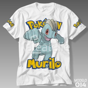 Camiseta Pokemon Machop