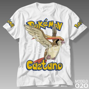 Camiseta Pokemon 020